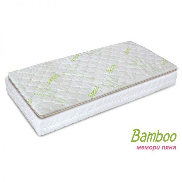 Топ матрак Bamboo мемори пяна