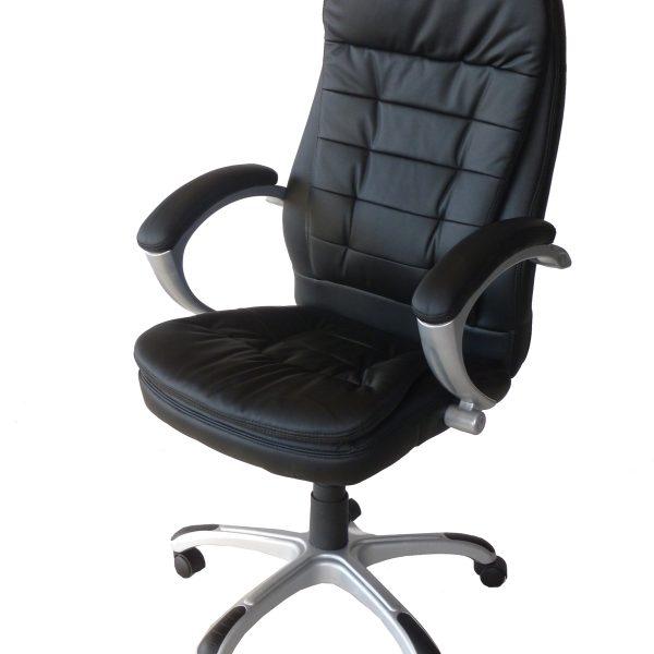 черен офис стол